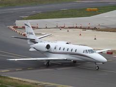 G-GAAL Cessna Citation Excel/XLS (Luxaviation UK) (Aircaft @ Gloucestershire Airport By James) Tags: luton airport ggaal cessna citation excelxls luxaviation uk bizjet eggw james lloyds