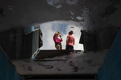 IMG_0548 (Mike Pechyonkin) Tags: 2019 moscow москва stadium стадион sportsman спортсмен girl woman девушка rugby регби reflection отражение sky небо cloud облако