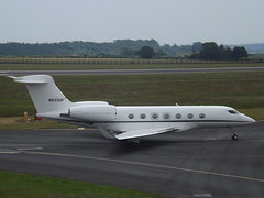 N533SF Gulfstream G500 (Private Owner) (Aircaft @ Gloucestershire Airport By James) Tags: luton airport n533sf gulfstream g500 private owner bizjet eggw james lloyds
