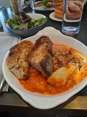 Perigrine Baked Eggs (L33tminion) Tags: food restaurants