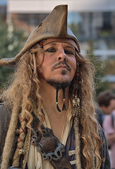 Captain Jack (Scott 97006) Tags: man character costume jack pirate swashbuckling hat