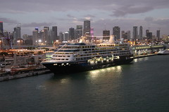 Azamara Journey in Miami, Florida from the Royal Caribbean Grandeur of the Seas - February 20th, 2019 (cseeman) Tags: grandeuroftheseas royalcaribbean royalcaribbeansgrandeuroftheseas grandeuroftheseasfeb14232019 cruise 9nightsoutheastcoastbahamascruise ninenightsoutheastcoastbahamascruise cruiseship ships grandeurfeb142019 goodmorning morning sunrise early grandeurfeb142019am quiet atlanticocean ocean sea cruiseshipmornings grandeurfeb142019amfeb20th miami florida portofmiami miamicruiseport azamarajourney azamaraclubcruisesjourney azamaraclubcruises