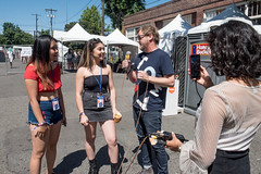 Interviews with Troy (kexplive) Tags: 720 capitolhillblockparty chbp crowd july kexp livemusic localmusic musicphotography people saturday troynelson