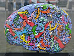 """Runt Brain by Alex """"Runt"""" Currie, Brain Project, Nathan Phillips Square, Toronto, ON (Snuffy) Tags: brainproject brainproject2019 runtbrain alexruntcurrie nathanphillipssquare toronto ontario canada"""