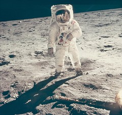 Man on the moon, 20 July 1969 (Thomas Cizauskas) Tags: space nasa moon apollo11 photography