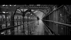 another gloomy afternoon (Nico Geerlings) Tags: ngimages nicogeerlings nicogeerlingsphotography nyc ny usa newyorkcity manhattan brooklyn lowereastside williamsburg williamsburgbridge rain raining rainy reflection blackandwhite bw streetphotography cinematic cinematography