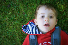 George the cheeky chappy (PeteFlintMurray) Tags: stoneymiddleton sunshine village life villagelife george toddler smiles cheeky joy eldest
