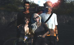 GOONIES. (Jane Bang. - space cadet -) Tags: space cadet bento pose groups secondlife ash falls dirtypretty