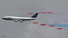 BA100 2 20190720 (Steve TB) Tags: canon eos7dmarkii riat 2019 raffairford rafat redarrows hawkt1 britishairways boeing 747 boac ba100