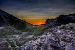 Big Cottonwood Sunset (TRSpro67) Tags: outdoors landscape nopeople scenics mountain sky nature rock valley cloud summer tranquilscene beauty sunset forest utah saltlakecity bigcottonwood canyon rocky