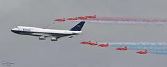 BA100 1 20190720 (Steve TB) Tags: canon eos7dmarkii riat 2019 raffairford rafat redarrows hawkt1 britishairways boeing 747 boac ba100