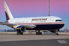 2-TSSA WESTSTAR B767-200 KILO YSSY-1596 (A u s s i e P o m m) Tags: weststar sydney newsouthwales australia weststaraviation boeing b762 syd yssy sydneyairport leedsunited westernsydneywanderersfc