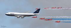 BA100 3 20190720 (Steve TB) Tags: canon eos7dmarkii riat 2019 raffairford rafat redarrows hawkt1 britishairways boeing 747 boac ba100