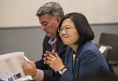 Her Excellency Tsai Ing-wenPresident of Taiwan (National Renewable Energy Lab) Tags: vip unitedstatessenatorcorygardner visitor director golden colorado unitedstatesofamerica