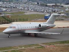 9H-VFE Bombardier Canadair Challenger 605 (VistaJet Malta) (Aircaft @ Gloucestershire Airport By James) Tags: luton airport 9hvfe bombardier canadair challenger 605 vistajet malta bizjet eggw james lloyds