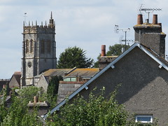 Dorchester: View of St George's Church, Fordington (Dorset) (michaelday_bath) Tags: dorchester dorset