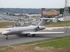 9H-VJO Bombardier Global 6000-BD-700 (VistaJet Malta) (Aircaft @ Gloucestershire Airport By James) Tags: luton airport 9hvjo bombardier global 6000bd700 vistajet malta bizjet eggw james lloyds