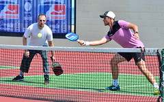DSC_2213 (rochpaul5) Tags: pickleball action sports paddle net ball