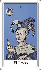 El Loco / The Fool (Marcos Telias) Tags: cards tarot carta mazo deck strange tarocco cartastelias illustration ilustración dibujo arte artista artist art drawing mysterious chile chilean chileno marcos telias