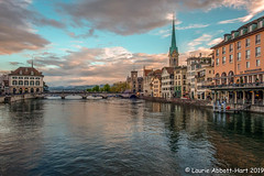 20190428 Zurich at Dusk26405-Edit (Laurie2123) Tags: fujixt2 laurieabbotthartphotography laurietakespics laurie2123 zurich colorsofthenight dusk vacation
