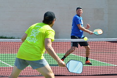 Kennedy vs. Valenti (rochpaul5) Tags: pickleball action sports paddle net ball
