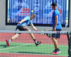 Reverse Gear (rochpaul5) Tags: pickleball action sports paddle net ball