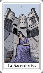 La Sacerdotisa / The High Priestess (Marcos Telias) Tags: tarot card cards highpriestess