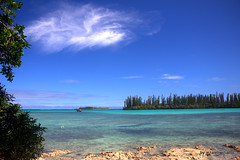 Landscape by the sea IMG_2402 (iezalel7williams) Tags: seascape landscape sea sky photography canoneos700d nature newcaledonia beautiful isleofpines beauty blue light love rock planetearth pinetrees travel paradise trees clouds naturalplace turquoise seawater happylife high vibration view scenary