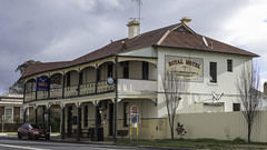 Royal Hotel, Mandurama NSW, built 1899. (Paul Leader - Paulie's Time Off Photography) Tags: architecture hotel pub streetphotography australia olympus nsw newsouthwales streetscape heritagelisted mandurama paulleader olympusem1x building oldbuilding heritagebuilding