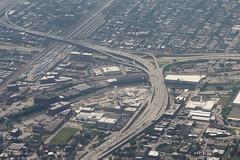 0U1A3624 - 05JUL - TUS-ORD - I-90, I-94, I-55 (colinLmiller) Tags: 2019 colinlmiller windowseat chicago illinois interstate highway junction interchange i90 i94 i55