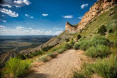 The Knife Edge (Scrubhiker (USCdyer)) Tags: mesaverdenationalpark colorado landscape clouds mountain