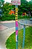 Knit-Bombed - Ottawa  07 19 (Mikey G Ottawa) Tags: mikeygottawa canada ontario ottawa street city graffiti wool yarn knit knitted knitbombed yarnbomb knitbomb