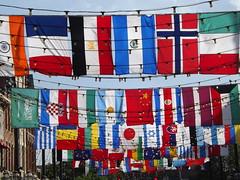 Colorful Flags, Denver, Colorado (lensepix) Tags: colorfulflags denver colorado colorful colors flags