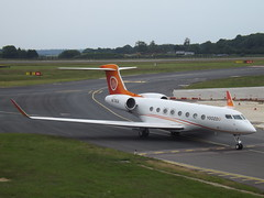 N678GA Gulfstream G650 (TVPX ARS Inc Trustee) (Aircaft @ Gloucestershire Airport By James) Tags: luton airport n678ga gulfstream g650 tvpx ars inc trustee bizjet eggw james lloyds