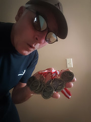 Husband of the Year Medals (Bracus Triticum) Tags: husband year medals self people calgary カルガリー アルバータ州 alberta canada カナダ stetsons 5月 五月 早月 gogatsu satsuki fastmonth 2018 令和元年 summer may reiwa