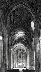 - (txmx 2) Tags: marseille sw bw kirche church stvictor interior architecture building
