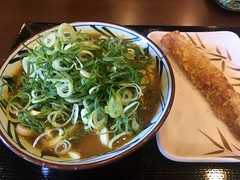 Curry Udon from Marugame Seimen @ Roppongi (Fuyuhiko) Tags: curry udon from marugame seimen roppongi カレー うどん 六本木 丸亀製麺 tokyo 東京