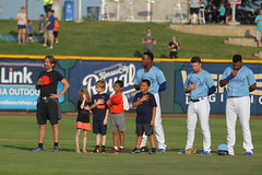 National Anthem (Minda Haas Kuhlmann) Tags: sports baseball milb minorleaguebaseball omahastormchasers nebraska omaha outdoors sarpycounty papillion fans onfieldpromotions