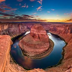 IMG_1832-Pano-Edit.jpg (jerschneid) Tags: pageaz awesome sunset page photography arizona epic river horeshoe horseshoebend