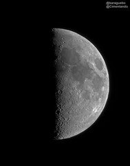Luna Cuarto Creciente 2019-05-11 - 21:42 T.U. (karaguebo) Tags: astrophotography moon luna astrophoto astro astronomy bresser zwo asi178mm astrofotografía astronomía lunar baader