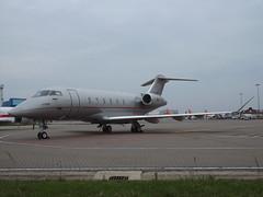 9H-VCF Bombardier Challenger 350 (VistaJet Malta) (Aircaft @ Gloucestershire Airport By James) Tags: luton airport 9hvcf bombardier challenger 350 vistajet malta bizjet eggw james lloyds