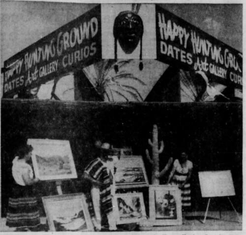 Indio Happy Hunting Ground 4 of 6 Desert Sun 5-16-1960