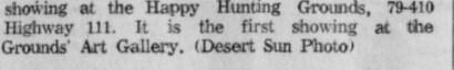 Indio Happy Hunting Ground 6 of 6 Desert Sun 5-16-1960