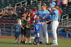 National Anthem (Minda Haas Kuhlmann) Tags: sports baseball milb minorleaguebaseball omahastormchasers nebraska omaha outdoors sarpycounty papillion fans onfieldpromotions highfives