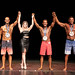 Men's Physique - True Novice - 3 MICHAEL DURLEY 1 RYAN MCKAY 2 RONALD MARTIN