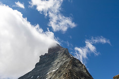 Updraft (yukky89_yamashita) Tags: matterhorn updraft clouds peak mountain switzerland マッターホルン スイス climbing sky swiss