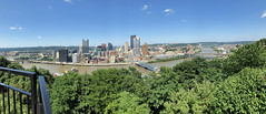 Pittsburgh Pano -Kathy (KathyCat102) Tags: ppgindustries pittsburgh pa pennsylvania iphonex