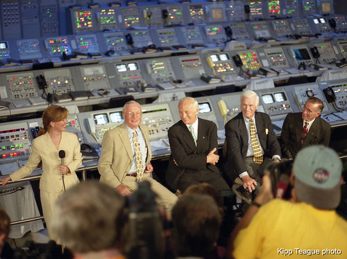 Apollo 11 30th Anniversary Press Conference at Kennedy Space Center - July 16, 1999