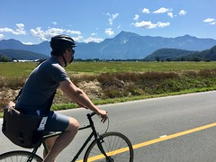 Thank you, @mezzoblue and @curio_research for a lovely day of cycling in the Canadian countryside.