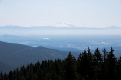 Mt. Baker from Mt. Seymour -North Vancouver, Canada (The Web Ninja) Tags: photo photography explore color colour vancouver northvan northvancouver vancity mtseymour mount seymour mountain lookout view mtbaker baker mountbaker nature landscape